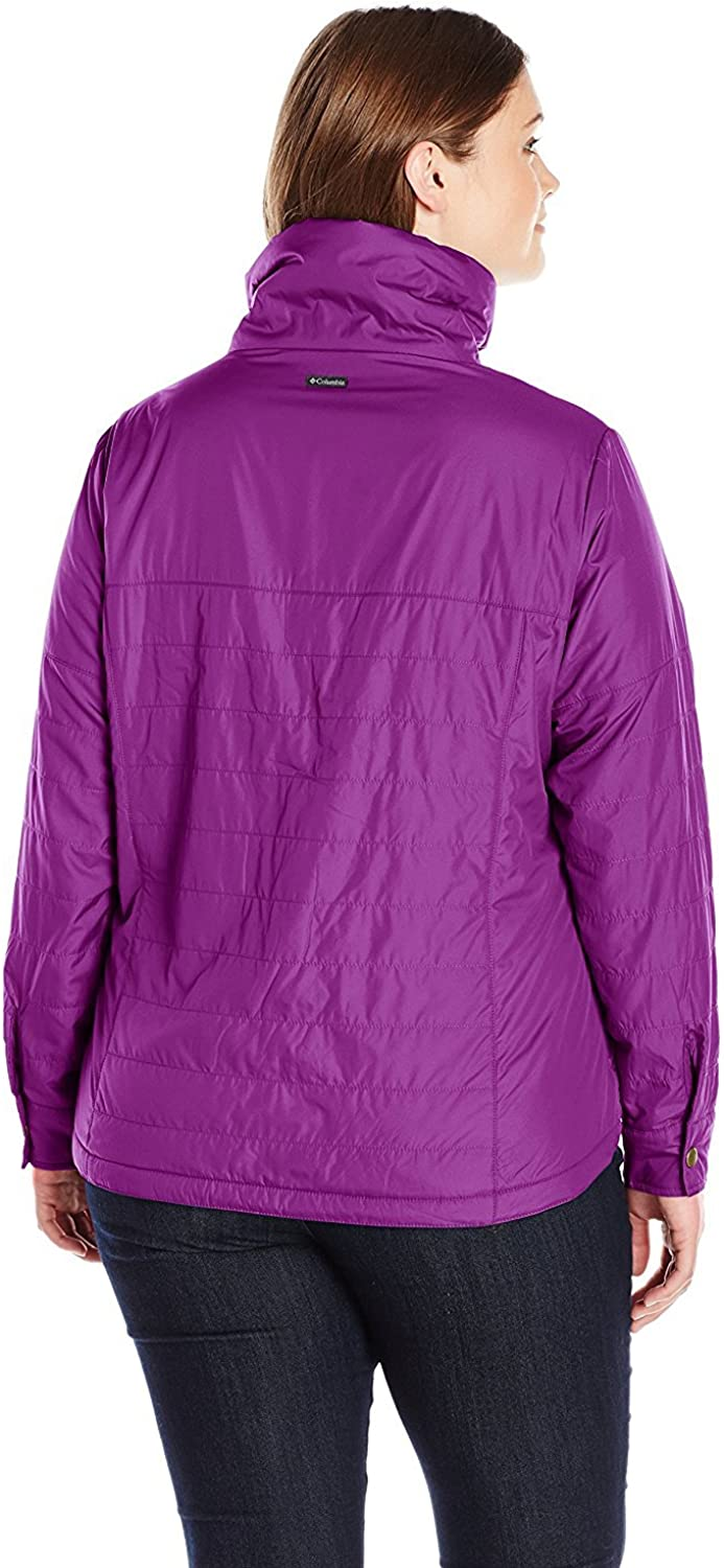 Columbia Shining Light Sweat zippé pour Femme Prune
