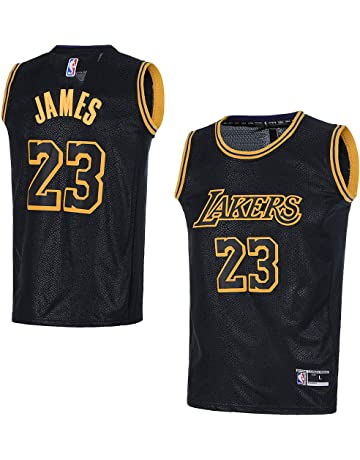 OuterStuff Youth Los Angeles Lakers  23 LeBron James Kids Basketball Jersey ce24ea253
