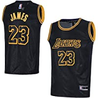 6f98fc665c786 OuterStuff Youth Los Angeles Lakers  23 LeBron James Kids Basketball Jersey