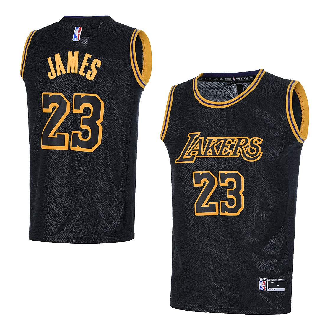 8111b0ea6 Amazon.com: OuterStuff Youth Los Angeles Lakers #23 LeBron James Kids  Basketball Jersey: Clothing