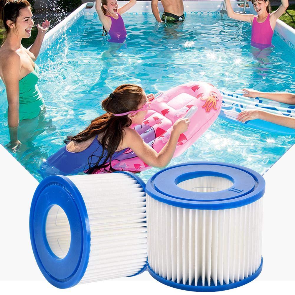 Cartucho de filtro antibacteriano del cartucho II//VI del filtro reemplazo el cartucho de filtro inflable de la piscina