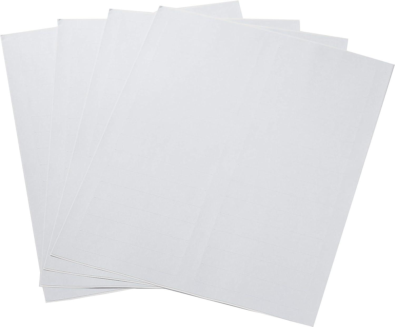 "AmazonBasics File Folder Labels, Permanent Adhesive, 2/3"" x 3-7/16"", 750-Pack"