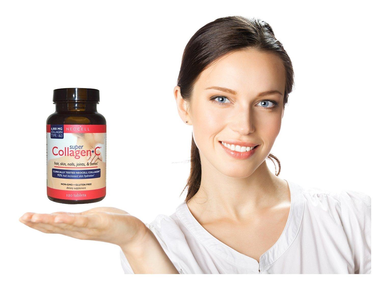 Amazon.com : Super Colageno Hidrolizado - Fórmula de Máxima Potencia + Vitamina C. Pastillas Eliminan El Dolor De Artritis y Arrugas.
