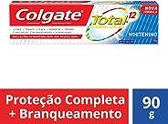 Creme Dental Colgate Total 12 Whitening 90g
