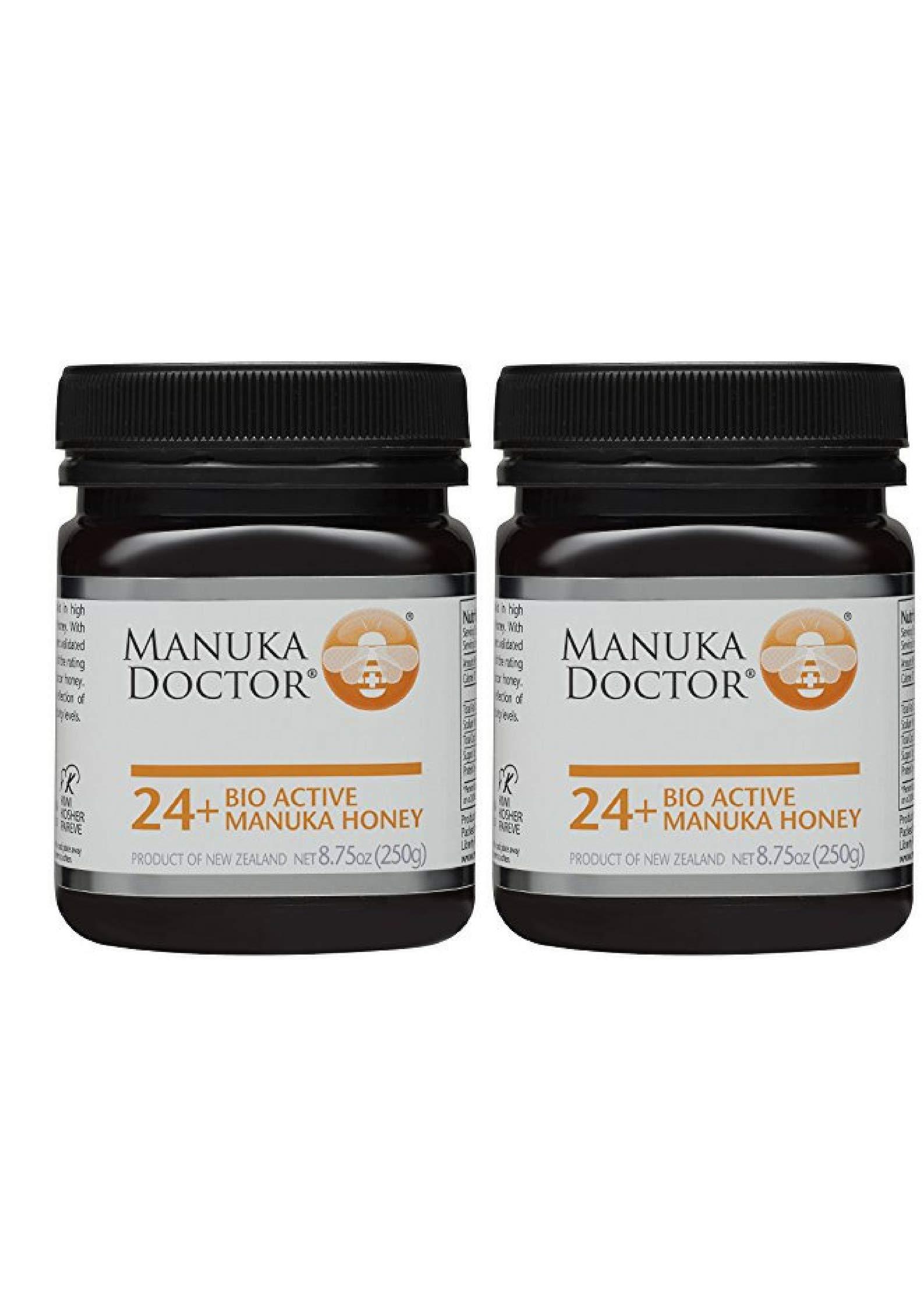 Manuka Doctor Bio Active Honey, 24 Plus, 8.75 Ounce (2 Pack)
