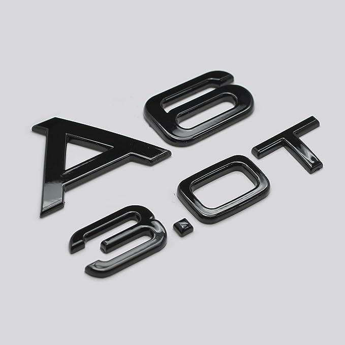 Nero lucido A3 2.0 TDI Scritta Emblema Badge per baule posteriore A3 modella