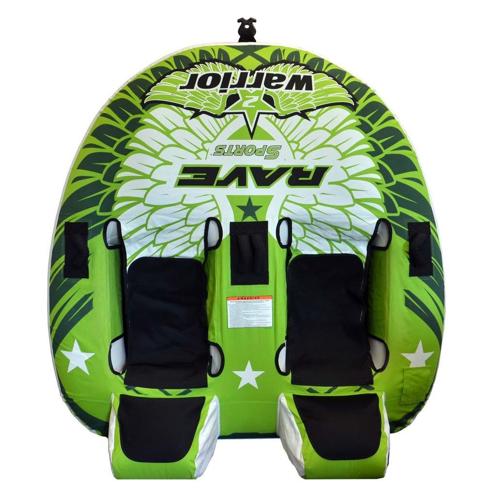 RAVE Sports Heavy Duty PVC and Durable Polyester Warrior 2 Boat Towable