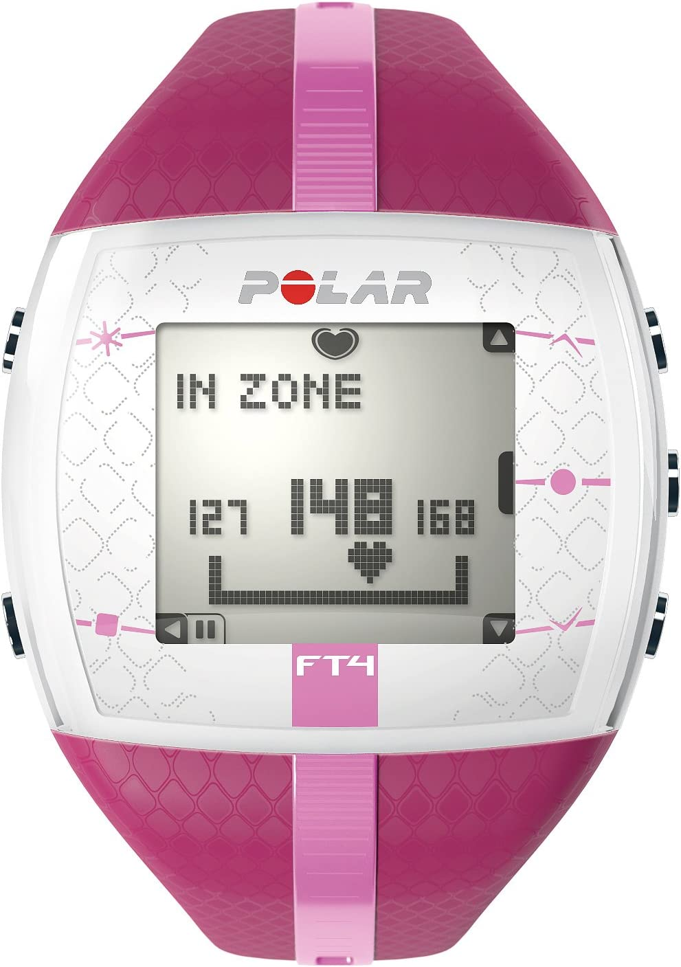 Polar FT4 - Monitor de ritmo cardíaco (30m, Rosa, Púrpura): Amazon ...