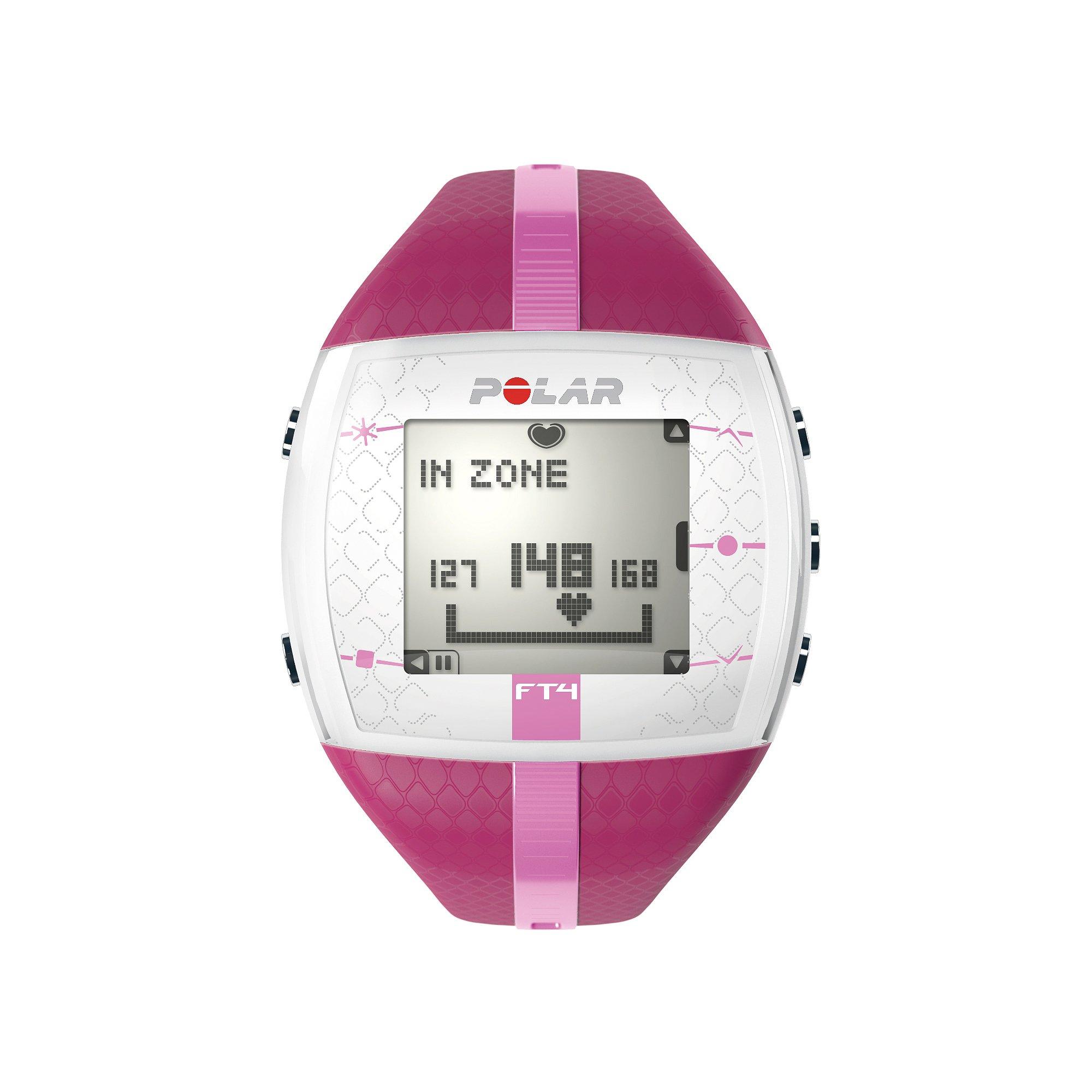 2aefd4764fc2fb Polar FT4 cardiofrequenzimetro e orologio sportivo, donna, 90051033,  Purple/Pink, Purple