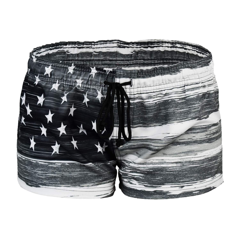 Black VbrandeD Women's American Flag Inspired Board Shorts (Assorted Designs)