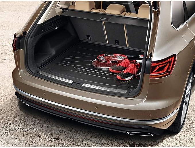 Volkswagen 760061161 Solo per Veicoli con Piano di carico Vasca Baule con Scritta Touareg