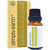 Lemon Eucalyptus Essential Oil by Simply Earth - 15 ml, 100% Pure Therapeutic Grade