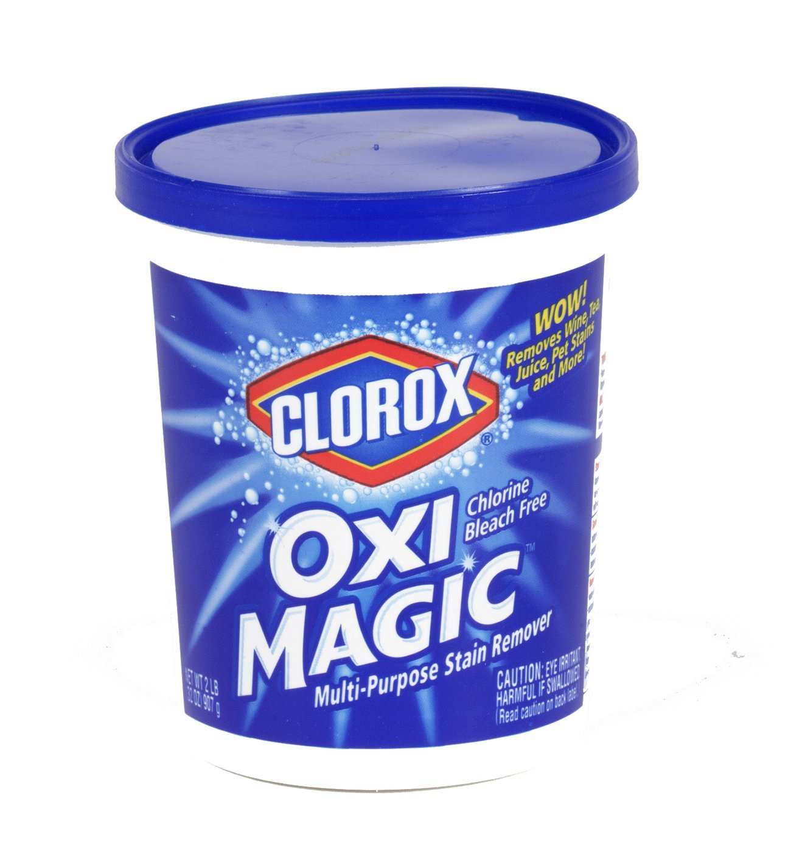 Clorox Oxi Magic Multi-Purpose Stain Remover Powder, 32 Ounce Tub