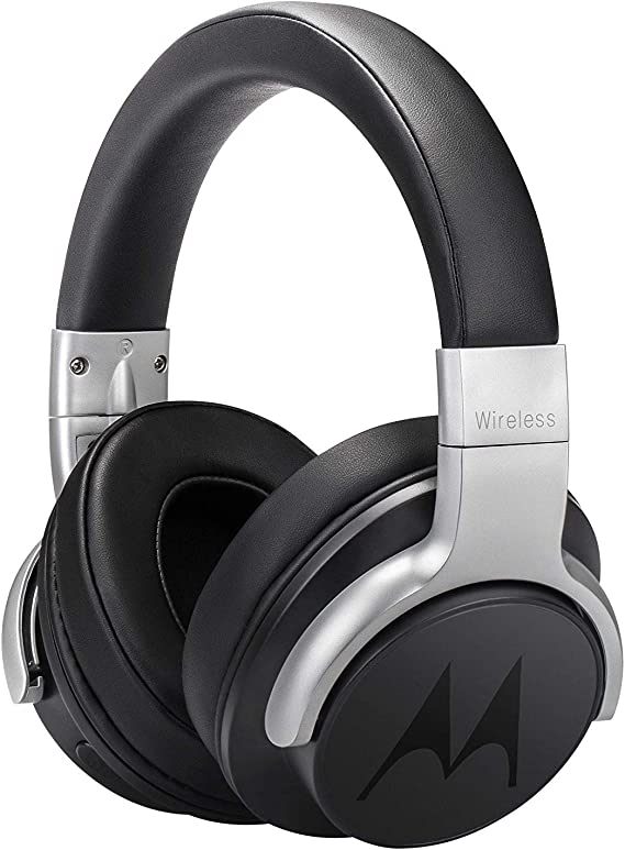 Motorola Escape 500 Wireless Active Noise Cancelling Headphones - Bluetooth Cordless Headset with Mic