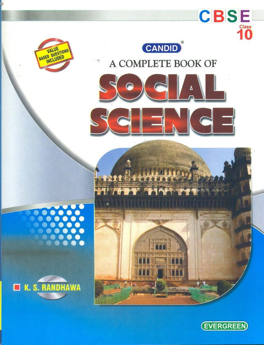 Candid A Complete Book of Social Science Class 10 - Vol. 2: Amazon.in: K.  S. Randhawa: Books