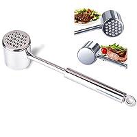 Pesante martello martello di carne in acciaio inox batticarne strumento pesto manuale carne / manzo, pollo, bistecca di maiale di accessori da cucina
