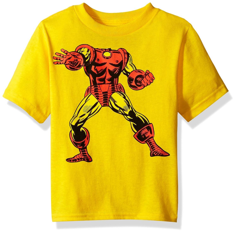 28d9afb4 Amazon.com: Marvel Toddler Boys' Iron Man Short Sleeve T-Shirt: Clothing