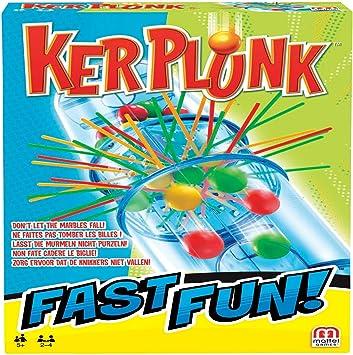 Mattel Games - Fast Fun KerPLunk Juego de mesa para niños (FPR07): Amazon.es: Juguetes y juegos