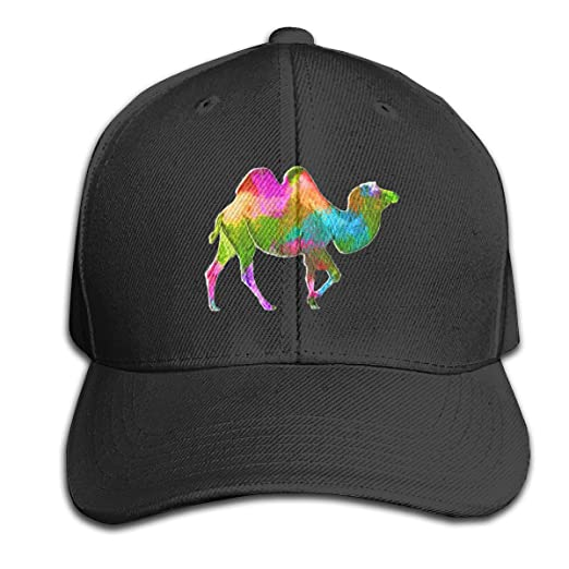 Amazon.com  Colorful Camel Pure Color Peaked Cap Made Dad Hat Fits ... 7e7ca493d9d