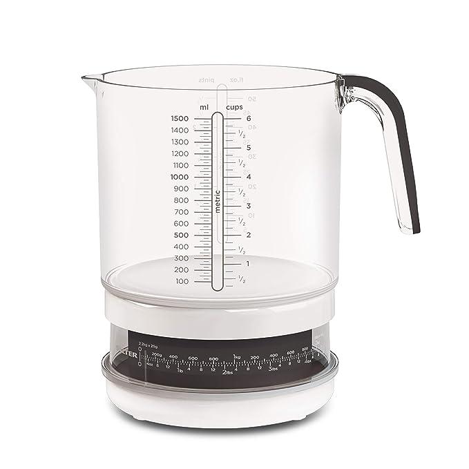 Compra Salter Báscula de jarra de 1, 5 litros, apta para ...