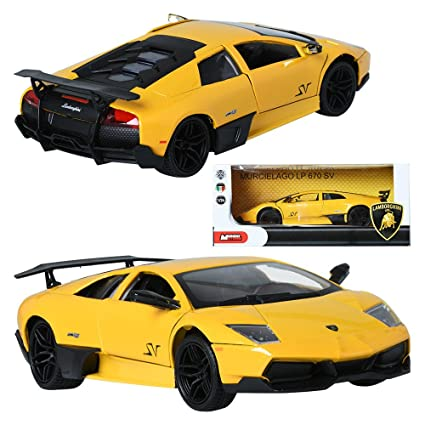 Mondo Motors 1 24 Lamborghini Murcielago Lp670 Sv Display Miniature
