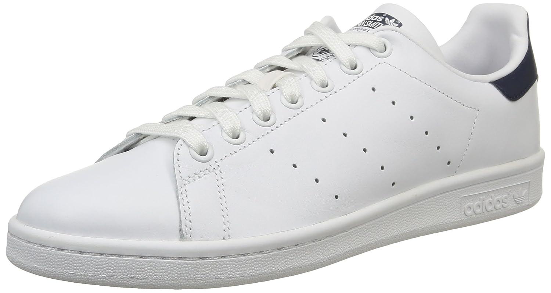 Adidas Unisex-Erwachsene Stan Smith M20325 Basketballschuhe Mehrfarbig (Weiß CWeiß/CWeiß/DkBlau)
