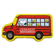 Snoopy and Friends Red School Bus Tin Pencil Box