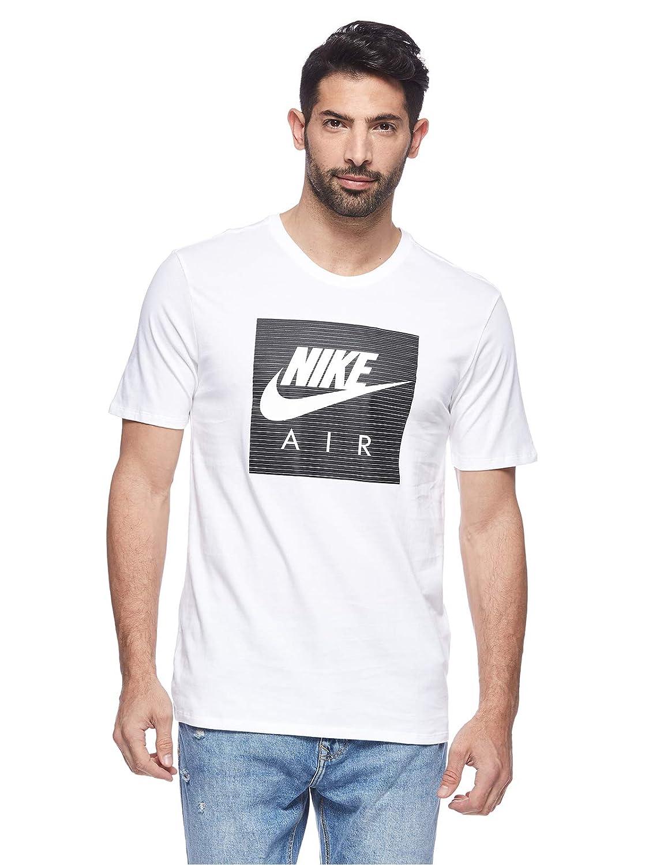 Nike M NSW Tee Cltr Air 1 WhiteWhite T Shirts Tanks