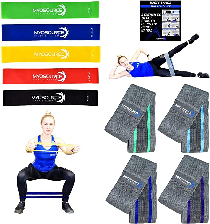 for Legs and Glute,Squat Glute Training,Physical Therapy,Shape Body,Home Yoga,30 inch x 3.1 inch Giro Booty Bands Exercise Resistance Bands Set for Women Butt and Legs,3 Level Hip Fitness Bands