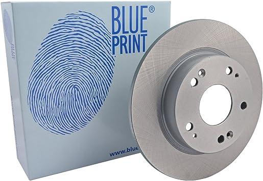 No full 2 Brake Disc rear of Holes 5 Blue Print ADH243100 Brake Disc Set