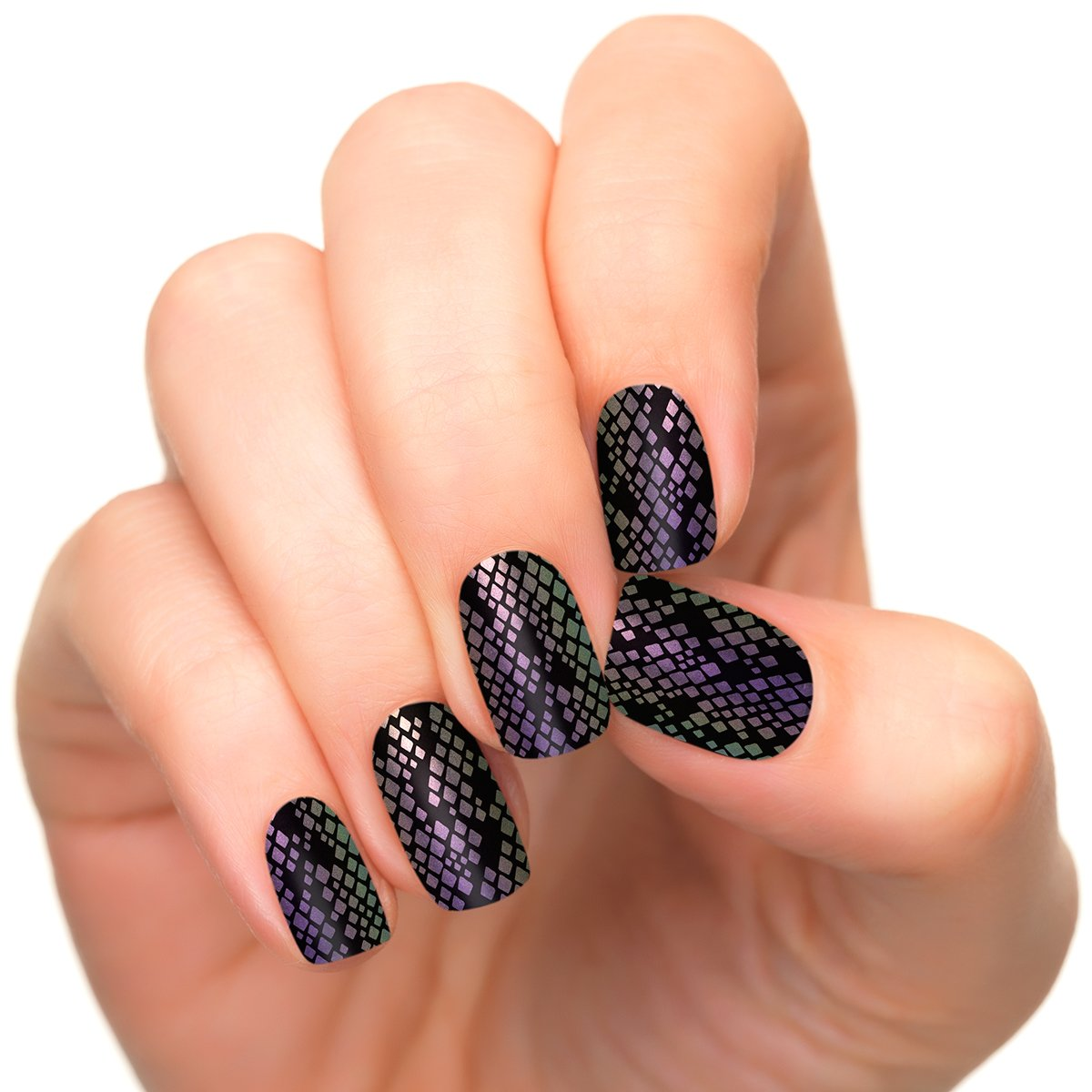 Incoco Duochrome Nail Polish Strips, Nail Art, Hypnotic