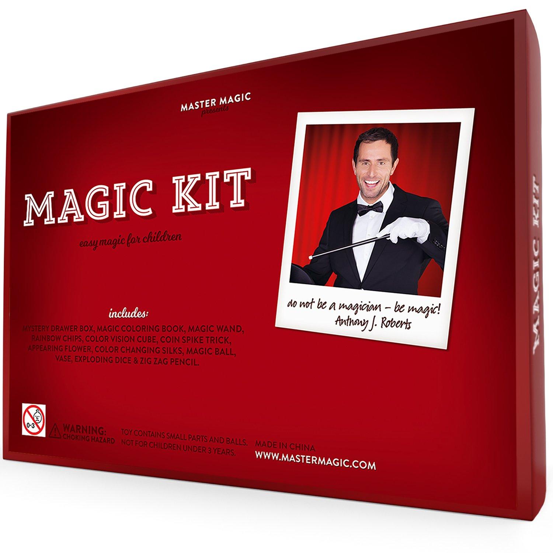 Amazon MasterMagic Magic Kit Easy Magic Tricks For Children