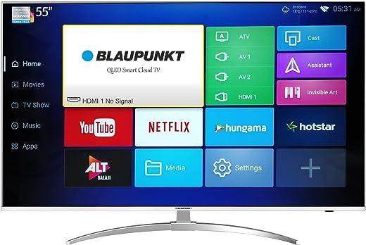 55 inches Blaupunkt QLED TV 4K Ultra HD QLED Smart TV BLA55QL680