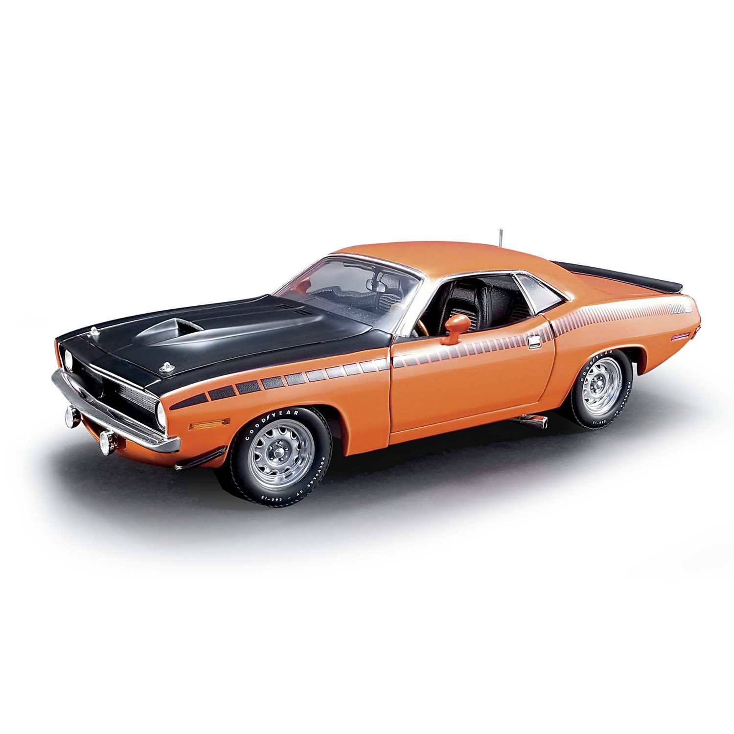 The Hamilton Collection 1:18 Scale 1970 Plymouth AAR Barracuda Collectible Diecast Car: Over 220 Parts