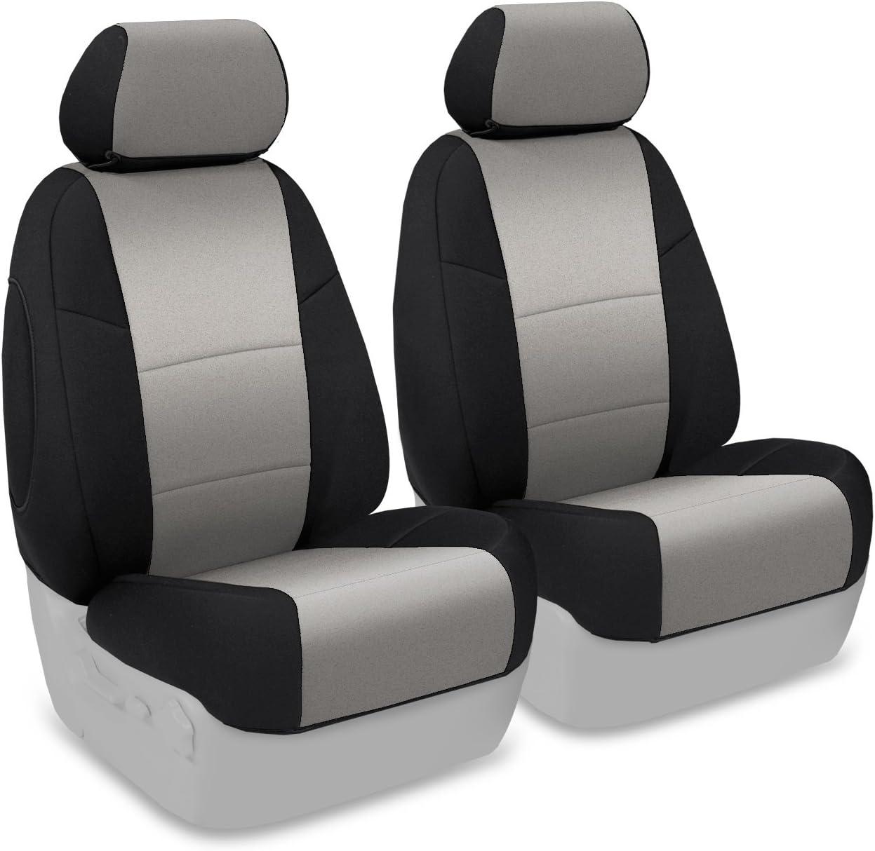 Coverking CR-Grade Neoprene Custom Tailored Front Seat Covers for Dodge Ram