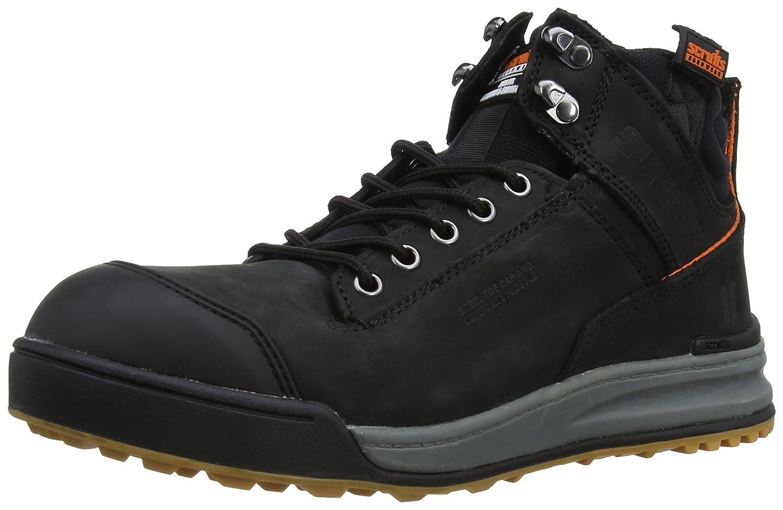 Scruffs Men's Switchback Safety Boots T52342 Black 9 UK, 43 EU - EN safety certified