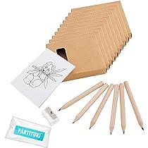 Piñatas de Cumpleaños Infantiles Partituki. 10 Packs para Colorear ...