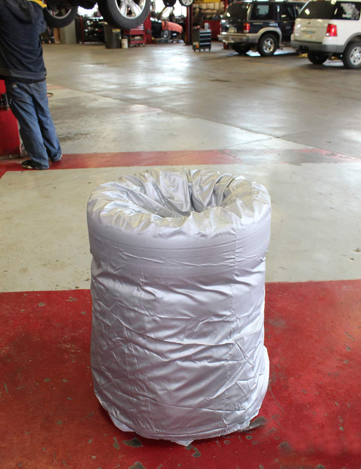 """4 Tires Up to 20/"""" Diameter Small 20/"""" x 30/"""" Inch Tire Storage Bag Seasonal Spare Snow Tire Bag ABN Car Tire Cover"""