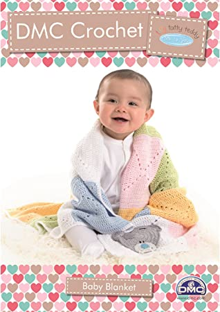 DMC Häkelanleitung Amigurumi-Tiny Tatty Teddy Baby Decke: Amazon.de ...