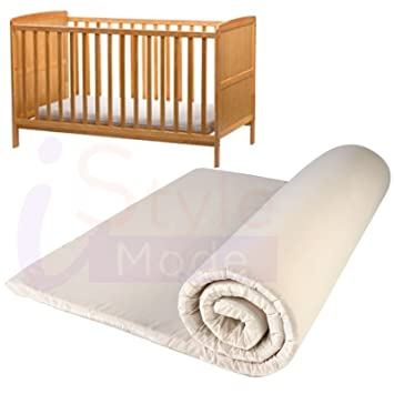 new product 8542d 3e7d7 New Non-Allergenic Memory Foam Cot Bed Toddler Quilted Fully ...