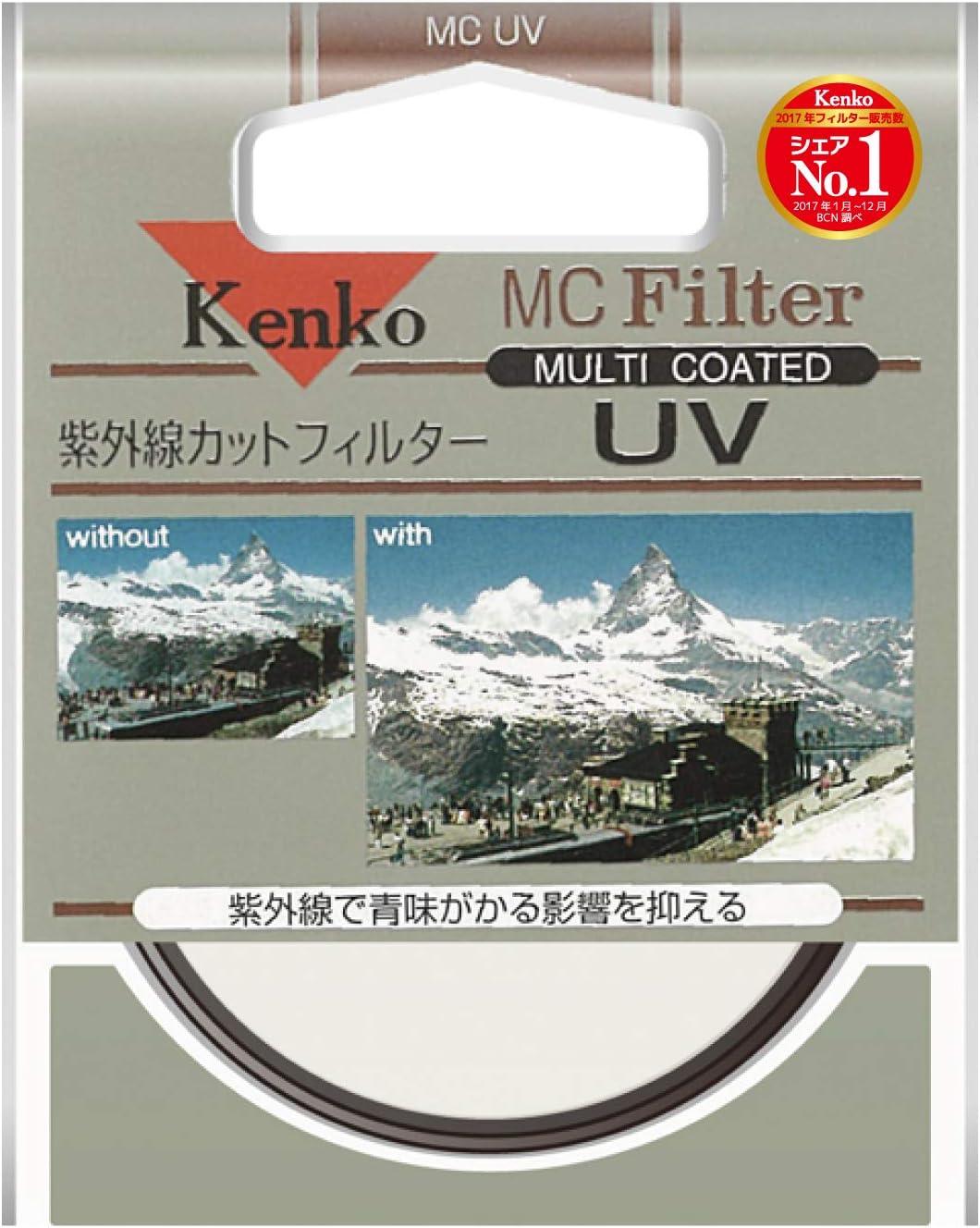 Multi-Coated SL-39 Optical Glass Filter Made in Japan Kenko-Tokina 58mm UV