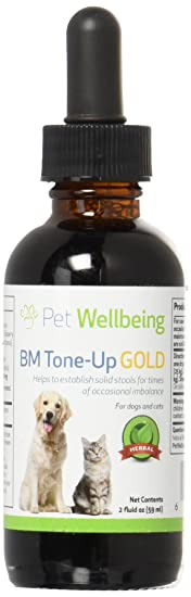 Pet Wellbeing - BM Tone-Up Gold - Dog Diarrhea Support - 2oz (59ml)