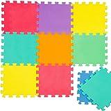 Puzzle uni mulricouleur tapis de jeu Tapis de jeu en mousse de tapis de puzzle tapis enfants