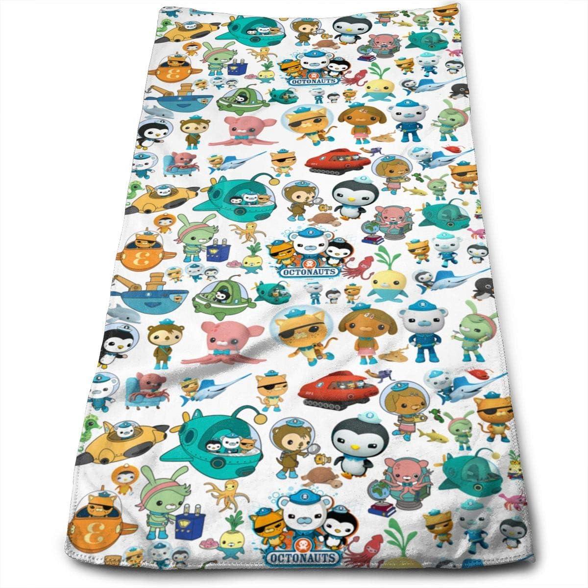 ASDDndPK Microfiber Sports The-Octonauts Towel for Swim Pool Beach Bathroom