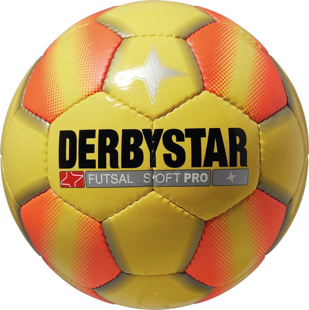 Derbystar Futsal Soft Pro - Balón de fútbol, Color Amarillo, Talla ...