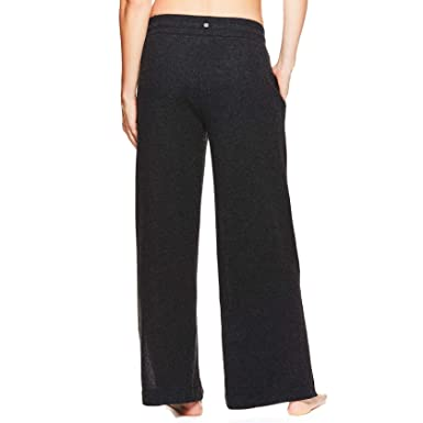 7e777c800065e Gaiam Women's Wide Leg Yoga Pants - Flowy Boho Style Bottoms w/Drawstring  Waist -