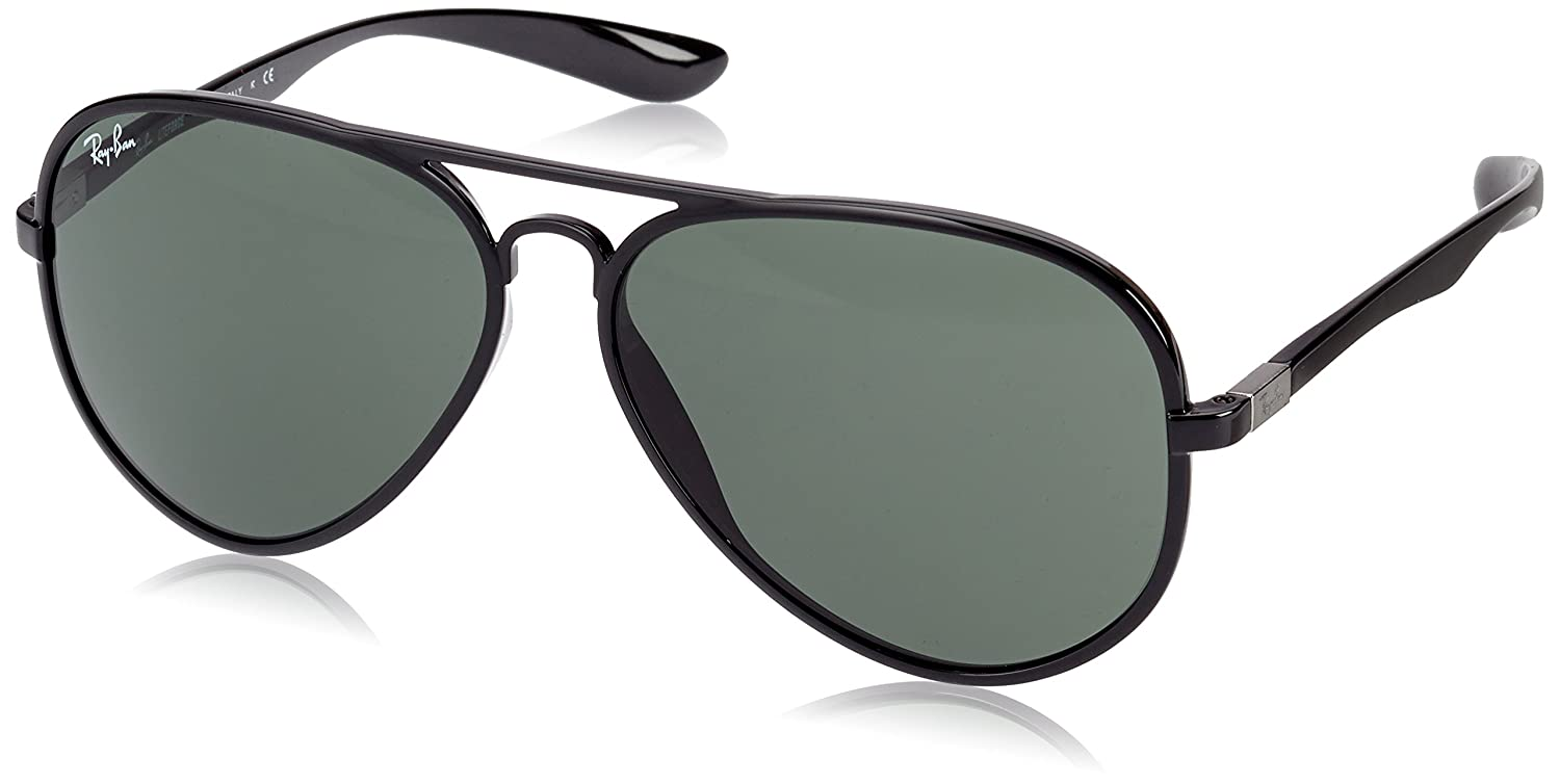 fda5b4bcda RAY BAN Unisex-Adult s Aviator Liteforce Sunglasses