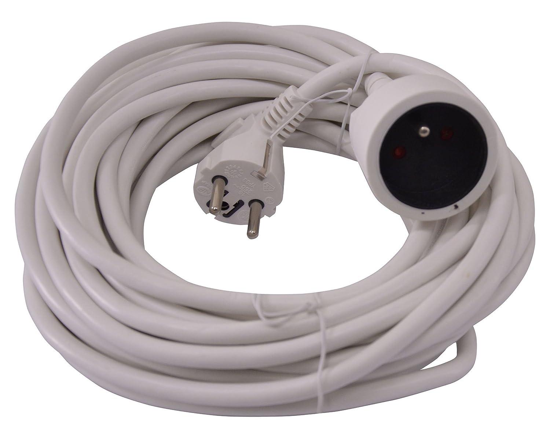 color blanco Cable alargador el/éctrico 5 m I-Watts I-RA3G15-5M