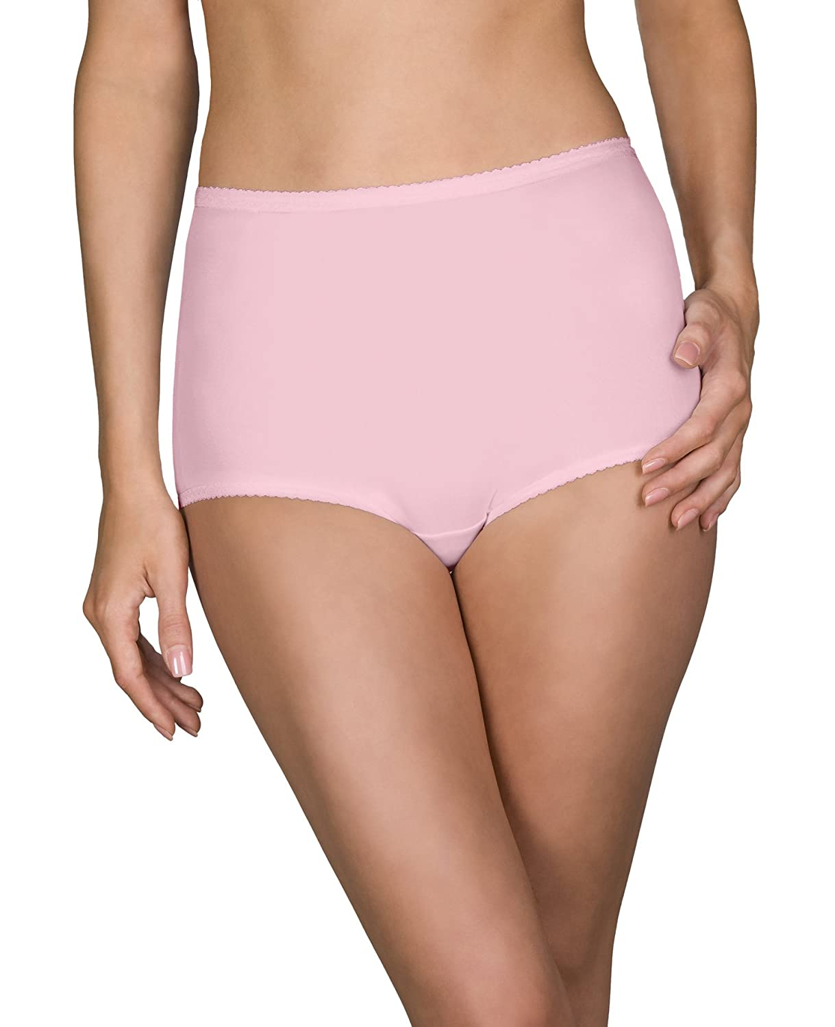 Shadowline Womens Plus-Size Plus-Size Spandex Classic Brief 3-Pack 17005X