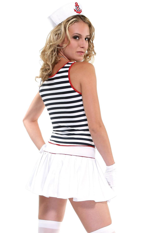Amazon.com: Forplay All Hands On Deck de la mujer disfraces ...